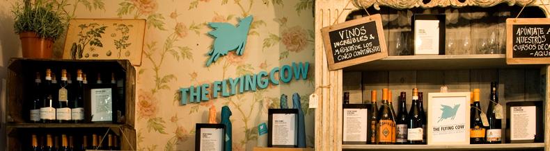 ¿Qué pasaría si las vacas volaran? The Flying Cow el corner del vino Internacional