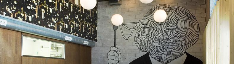 Eat, Drink & Celebrate. Concepto y branding del Restaurante Seisocho