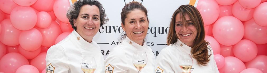 EL CHAMPAGNE VEUVE CLICQUOT PRESENTA EN ESPAÑA SU ATELIER DE GRANDES DAMAS