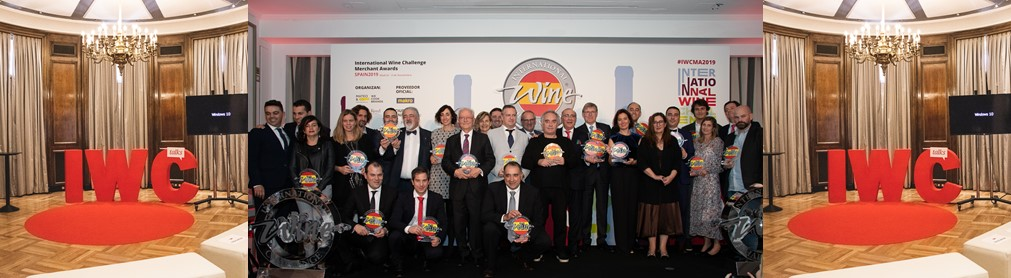 LOS INTERNATIONAL WINE CHALLENGE  MERCHANT AWARDS SPAIN 2019 YA TIENEN GANADORES